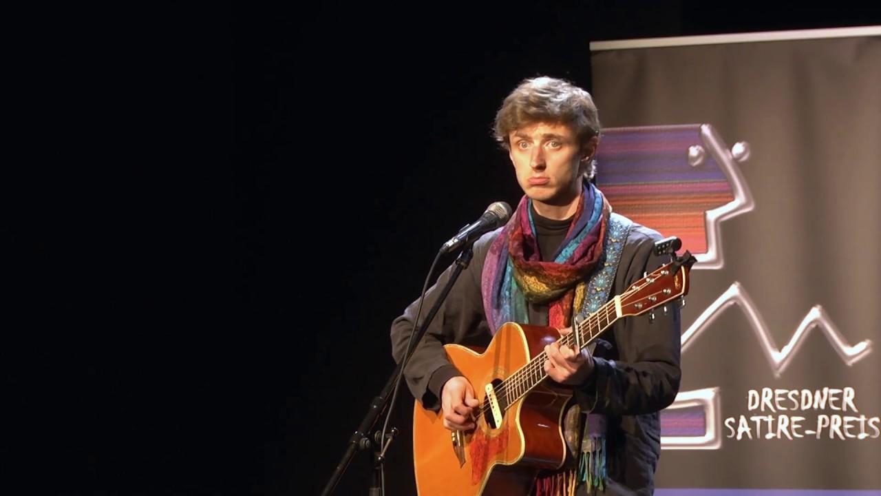 Jakob Heymann - live - Dresdner Satire-Preis 2018 im Dresdner Kabarett Breschke & Schuch