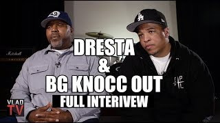 Dresta & BG Knocc Out on Eazy-E, Suge, Crips, Mexican Gangs (Full Interview)