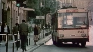 Trolleybuses and trams in the European cities (TV Records mix)