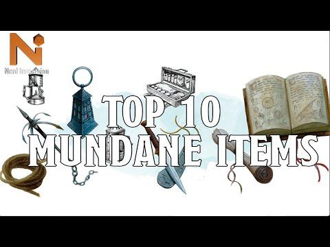 Top 10 D&D 5e Mundane Items   Nerd Immersion