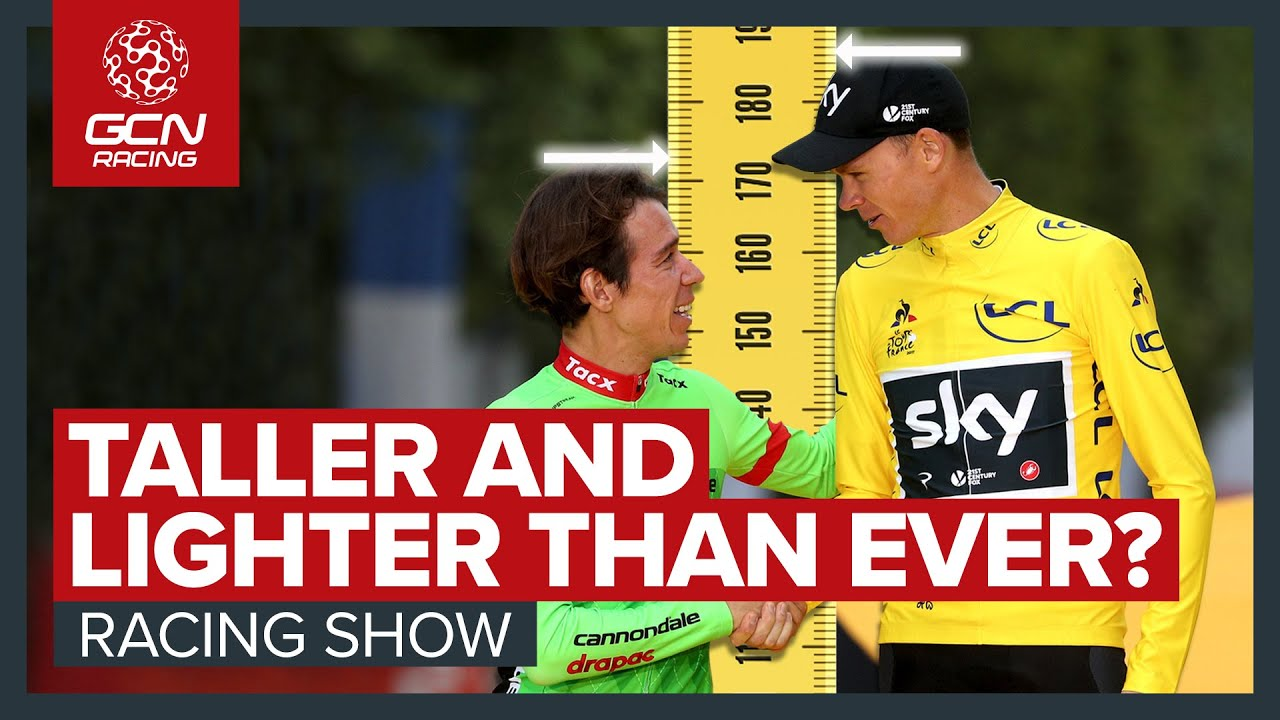 Are Tour de France Winners Taller & Lighter Than Ever Before? | GCN's Racing News Show