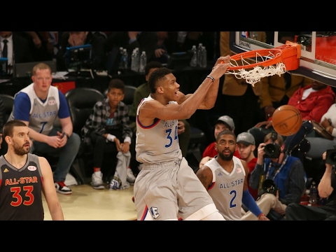 Download Giannis Antetokounmpo 30 Points in 1st All-Star Game   02.19.17