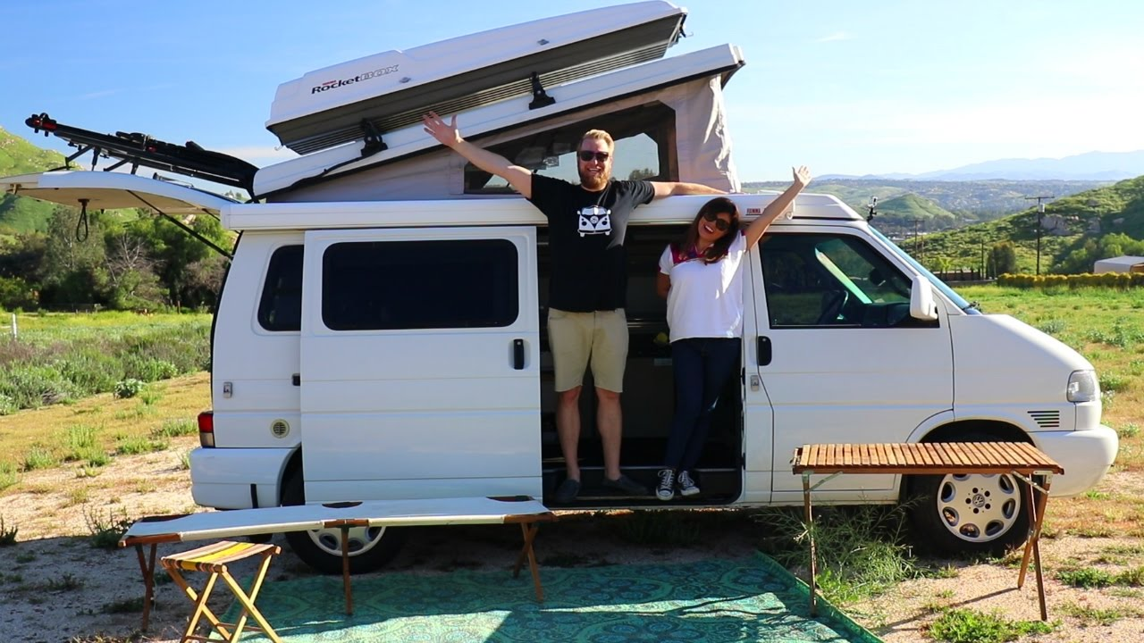 Modified 1999 T4 VW EuroVan Camper Review - YouTube