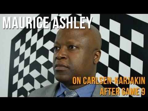 Maurice Ashley On The Magnus Carlsen vs Sergey Karjakin World Championship