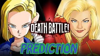 Death Battle Prediction: Android 18 VS Captain Marvel