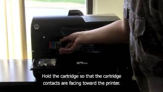 Replacing HP 950XL Inks in HP OfficeJet 8600 e-All-in-One Printer
