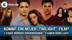 """Neuer """"Twilight""""-Film: 3 Stars wären bereit - 3 Stars haben keine Lust!"""