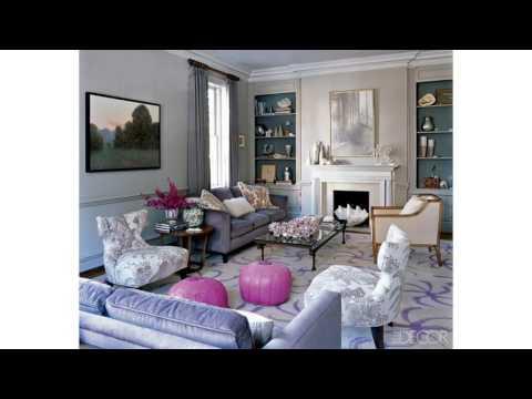 Idées décoratives de salon gris