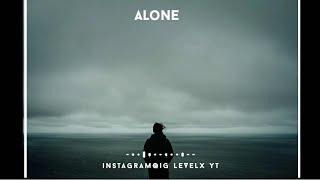 Feeling alone whatsapp status