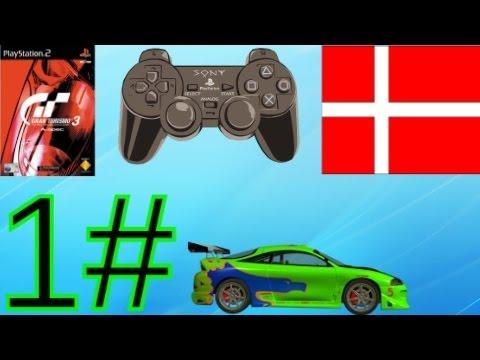 (Dansk) Gran Turismo 3 - Episode 1 - Langsomme Biler (PS2)