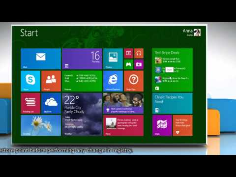 How to fix when Windows® 8.1 metro apps not launching