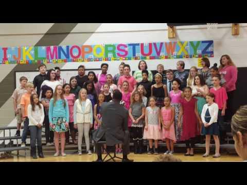 Carden Park 5th Grade Choir- Fall Concert #3 Music Director Robert Warren, Jr