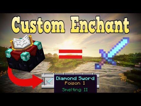 Minecraft Bedrock Edition Custom Enchantments Addon Download