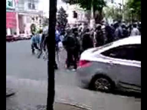 15:14. Колонна активистов Куликова
