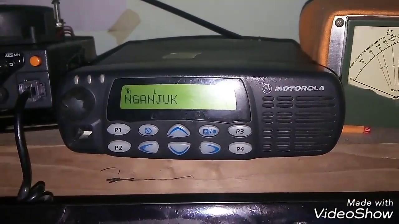 Tutorial sederhana Otomatis On/Hidup Motorola GM338 apabila listrik  putus/mati