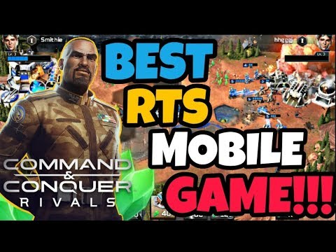 How To Command & Conquer Rivals Detailed Overview: BEST RTS MOBILE GAME  AROUND!!