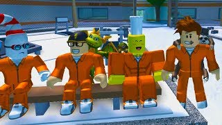 ONLY YOUTUBERS ROBLOX JAILBREAK