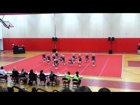 Robious Middle School Cheer Competition 2015