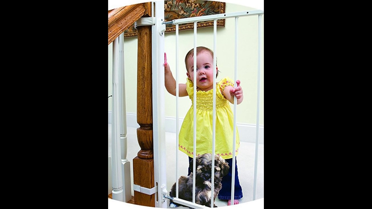 Best baby gate for bottom of stairs with banister 2017 ...
