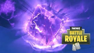FORTNITE THE CUBE IS CRACKING RIGHT NOW!?