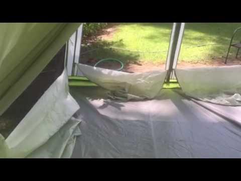 Wenzel eldorado 10 person tent review & Wenzel eldorado 10 person tent review - YouTube