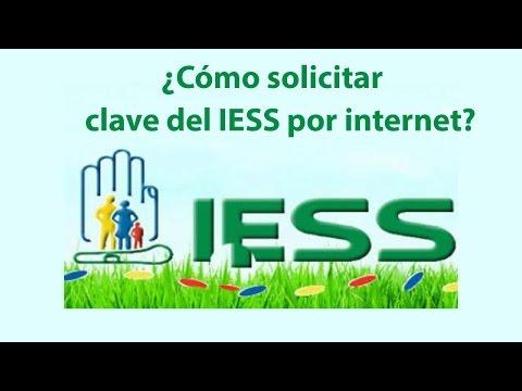 Solicitar Recuperar clave del IESS por internet 2016 de YouTube · Duración:  7 minutos 19 segundos
