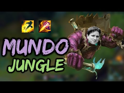 SAPIK MUNDO JUNGLE ! |LoL| A'dan Z'ye Jungle #21