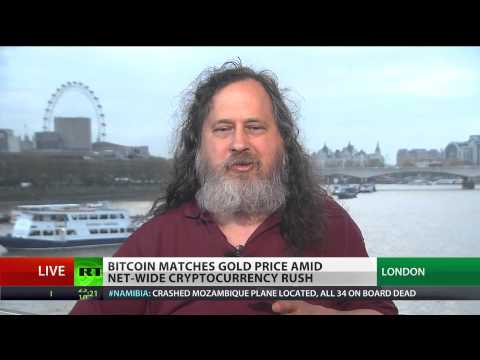 Richard Stallman On Good Things And Bad Things About Bitcoin