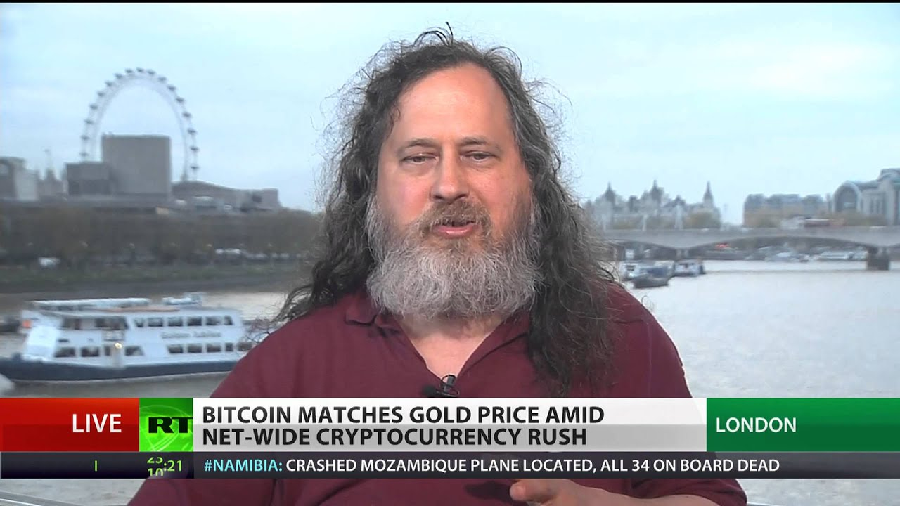 Richard stallman bitcoins plus 7 in betting what is a money