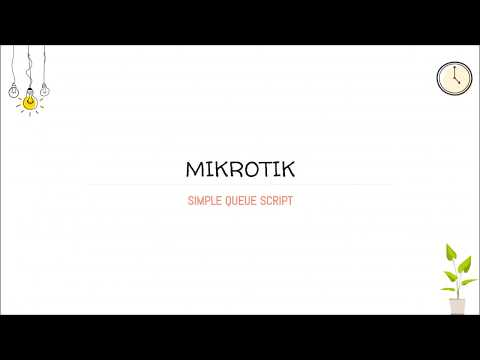 Mikrotik Simple Queue Script - Add All IP at Once In Queue