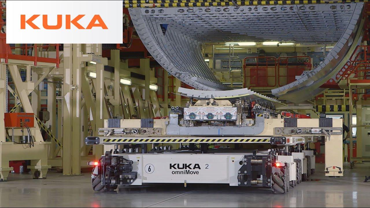 Airbus Uses Kuka Omnimove Mobile Platform To Build The
