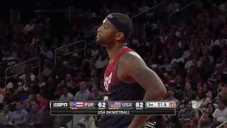 HD Puerto Rico vs USA Basketball 22/8/2014