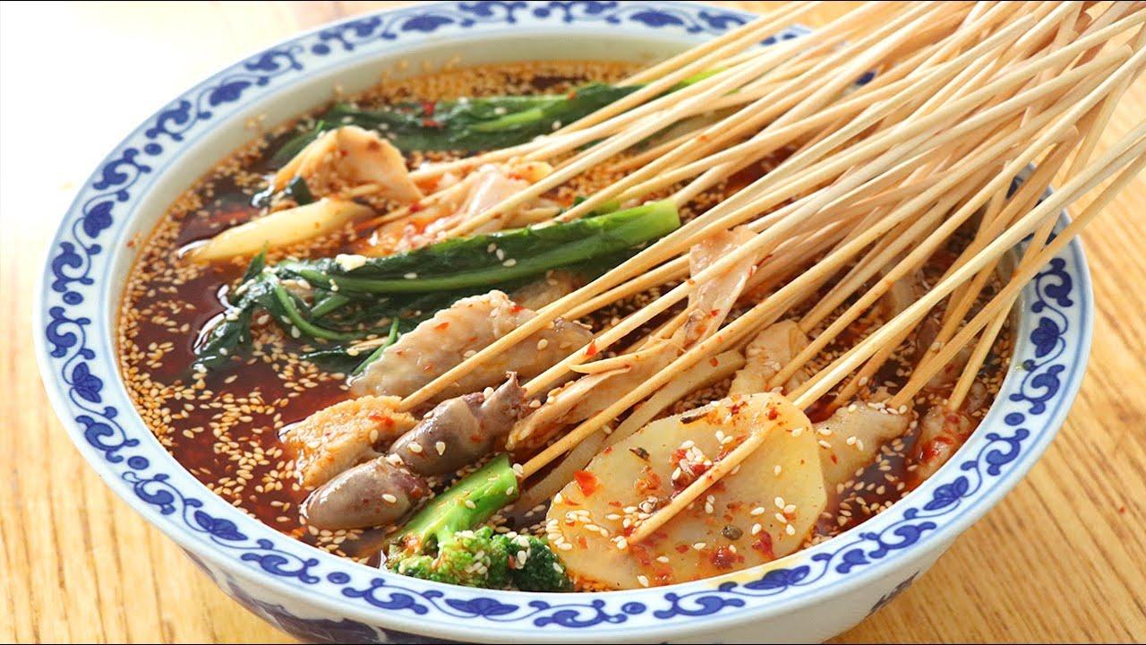 自製紅油缽缽雞:秘製辣椒油,鮮香麻辣,家庭做法簡單易學,好吃【夏媽廚房】