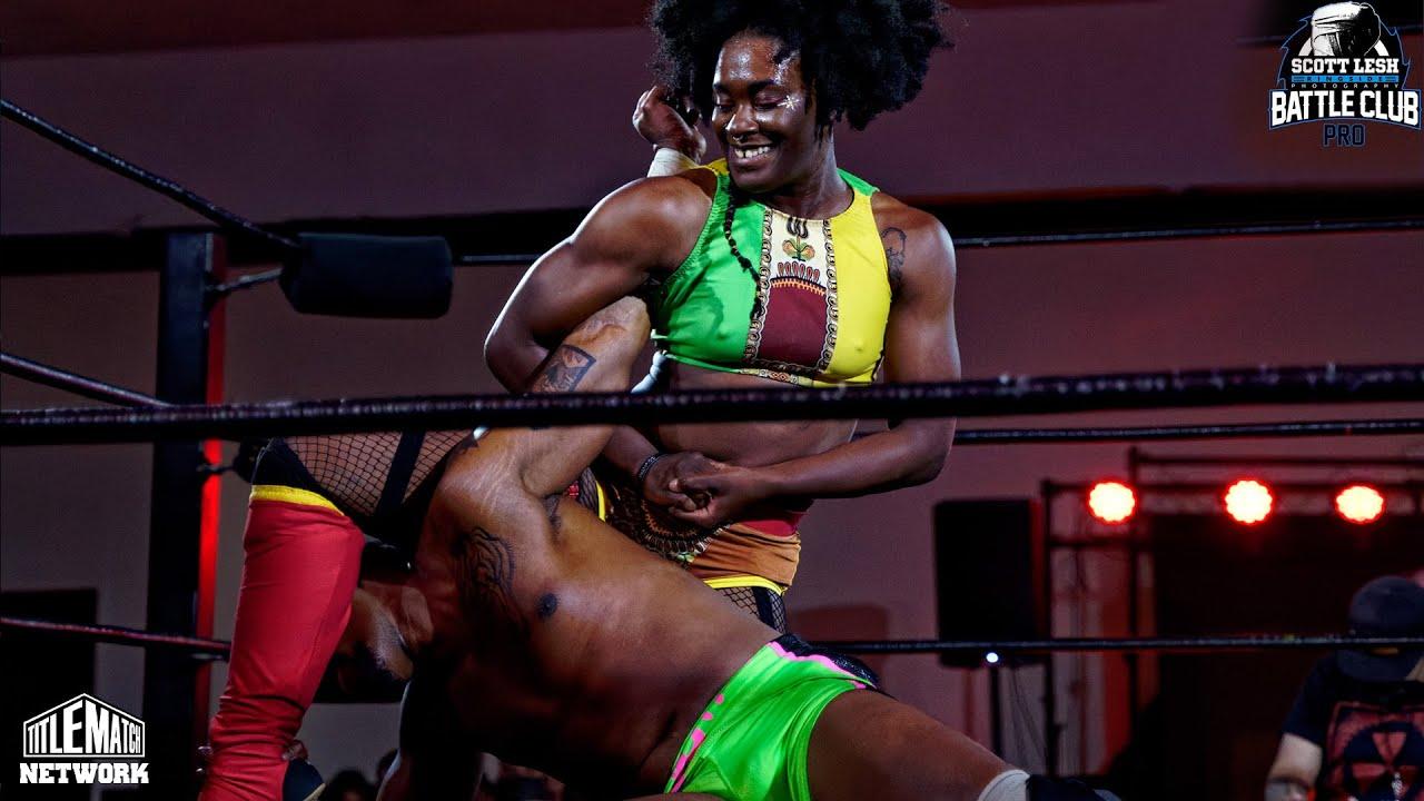 Trish Adora vs Lee Moriarty (Intergender Wrestling) Battle Club Pro