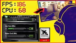 Msi afterburner kullanımı. Oyun FPS ve ISI gösterme ayarları +iNDİRME [GPU -CPU -RAM izleme] gamer