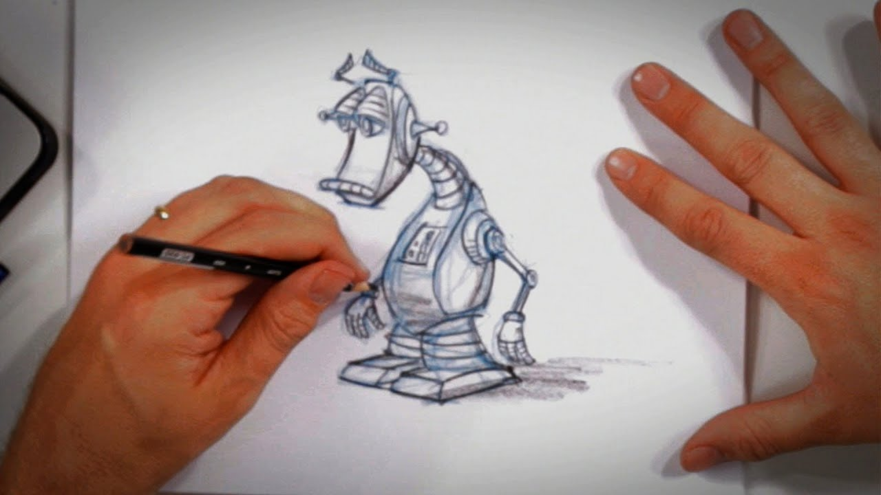 Design Own Cartoon Character : Creating your own cartoon character drawing tips youtube