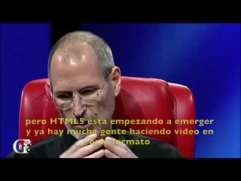 Así predijo Steve Jobs en 2005 el fin de Adobe Flash. Entrevista del 2011, relata hechos del 2005.