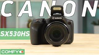 canon PowerShot SX530 HS - ультразум-фотокамера с 50-ти кратным приближением - Видео демонстрация