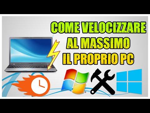 Tutorial - Come Velocizzare Al Massimo Il Proprio PC Gratis (XP - 7 - 8 - 8.1 - 10) [ITA]