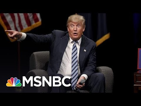 President Donald Trump's Behavior Hurts The Presidency, But He Doesn't Care | Rachel Maddow | MSNBC