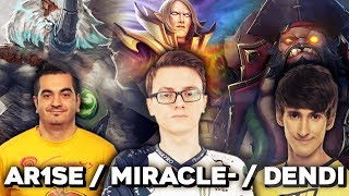 When Pro Players Play Their BEST Hero - Miracle Invoker, Arise Magnus, Dendi Pudge