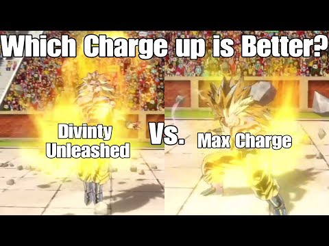 Xenoverse 2 Skill Test! Divinity Unleashed Vs. Maximum Charge!!