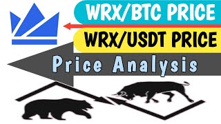 Wrx coin Price Analysis| Wrx/Btc| Wrx/Usdt| Bull Bear लड़ाई शुरु
