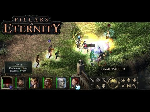 Pillars of Eternity - First Look and Gameplay