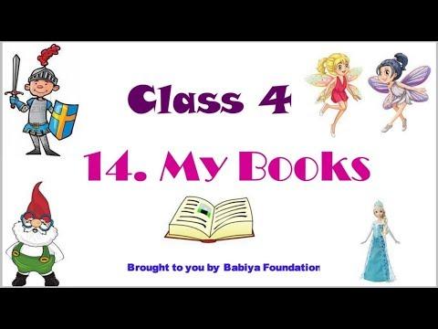 My Books | Class 4 | English Balbharti | English Medium | Complete Explanation