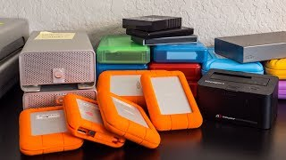 How I Backup My Video Footage + My Favorite Hard Drive (LaCie Rugged)
