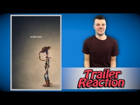 Toy Story 4 Official Teaser Trailer Reaction