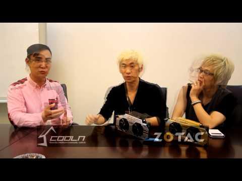 Coolenjoy ZOTAC Tech tour [ ZOTAC James Liu interview ]