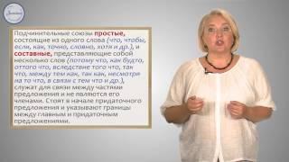 Русский 9 Союзы и союзные слова в Союзы и союзные слова в сложноподчинённых  предложениях