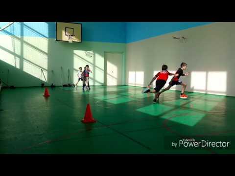 Подвижные игры с элементами баскетбола